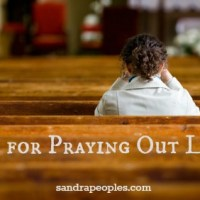 Tips for Praying Out Loud