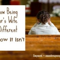 How Being a Pastor's Wife Is Different (and How It Isn't)