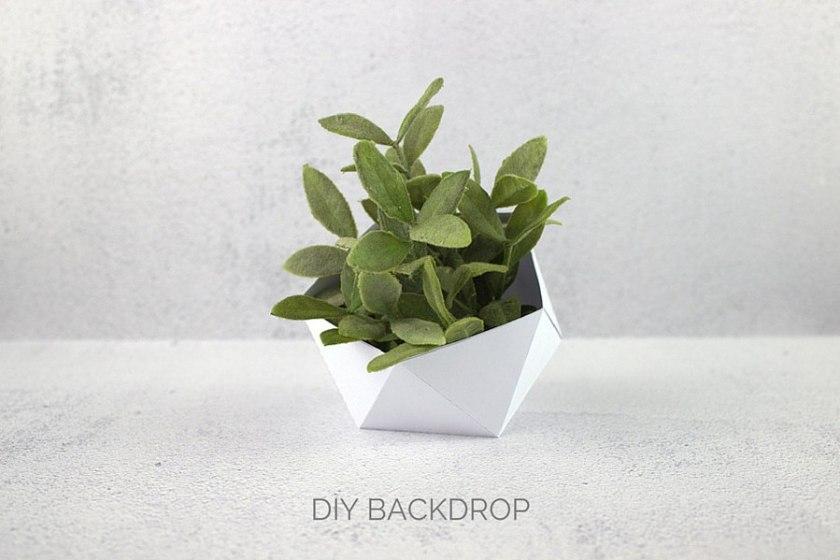 DIY Backdrop - Fotohintergrund selber machen