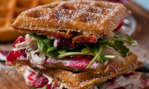 Waffle Day Inspired Waffle Sandwiches for March Sandwich Night