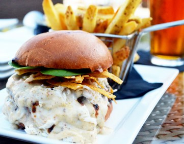 Coastal Crab Burger from World Sandwich Champion Jennifer Daskevich and Coastal Grill & Bar