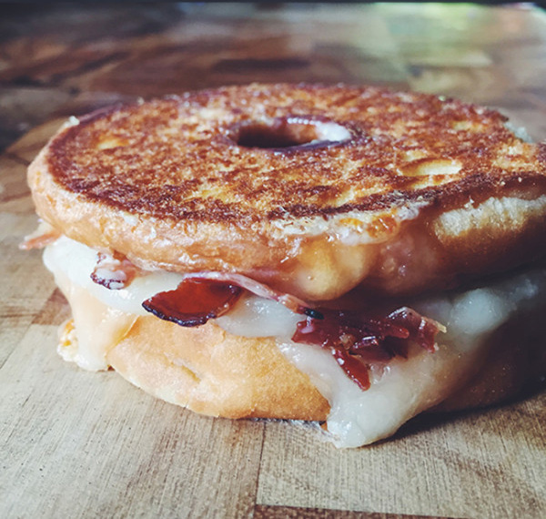 Maple Bacon Grilled Cheese Sandwich - Recipe and Photo by Grilled Cheese Social