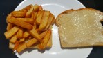 The chip butty, undressed