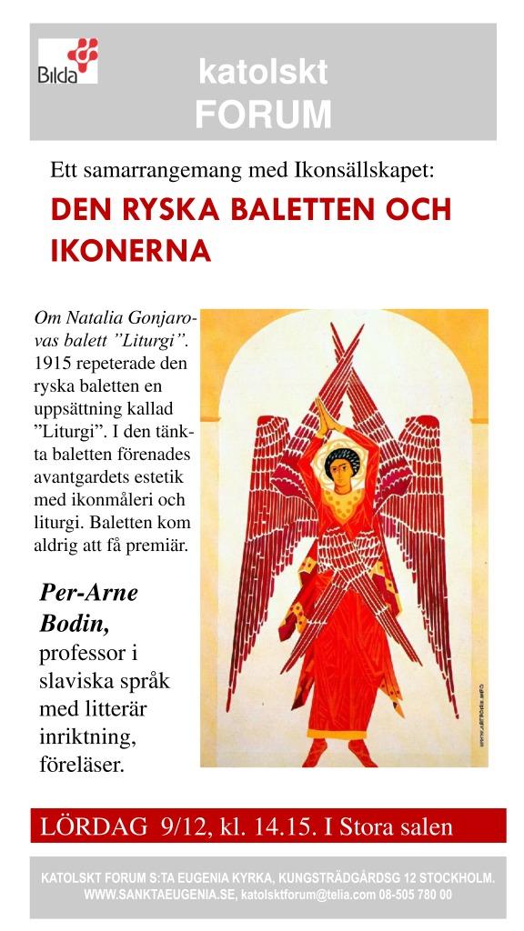 thumbnail of den ryska baletten och ikonerna