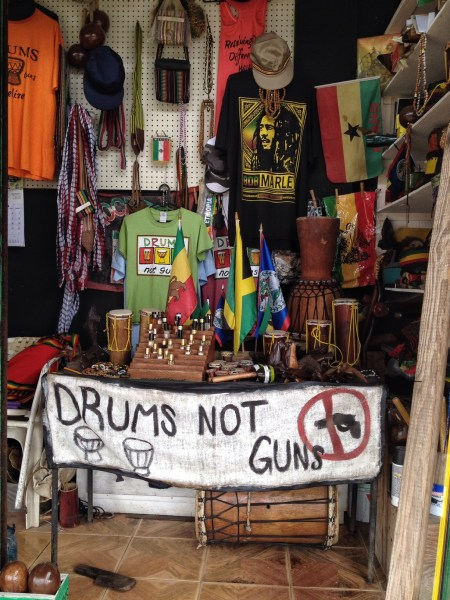 Drums Not Guns Organization Belize City