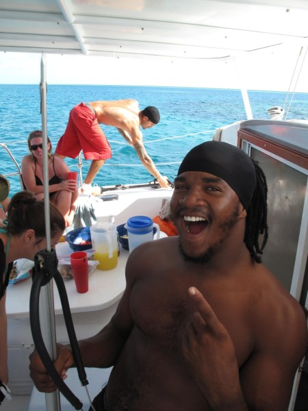 Shane on Raggamuffin Tours - a native Kriol speaker