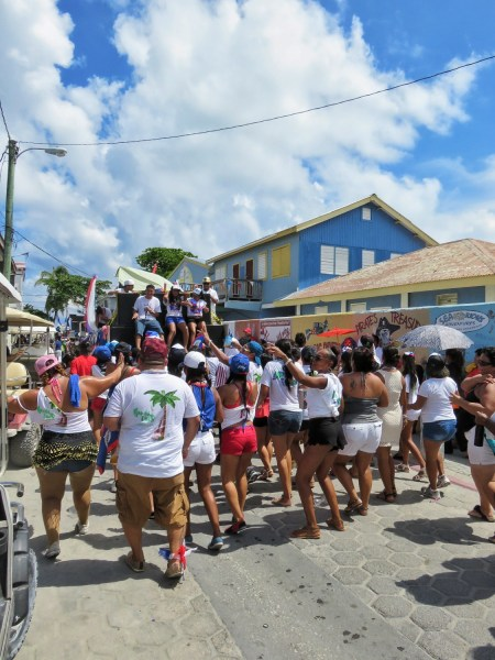 Ambergris Caye Sept 21st Parade