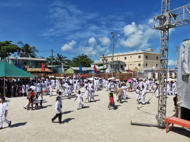 St George's Caye celebrations in San Pedro, Belize