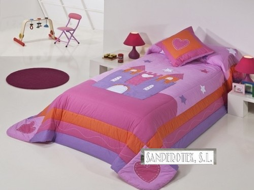 Las colchas en decoracion habitacion infantil sanperotex - Textil habitacion infantil ...
