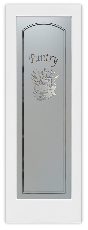 Large Of Glass Pantry Door