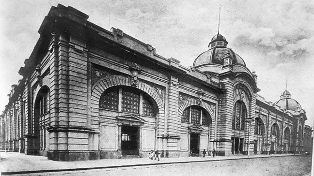 Mercadão em 1933