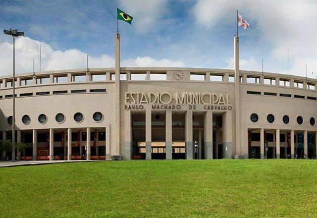 Estádio do Pacaembu, em São Paulo