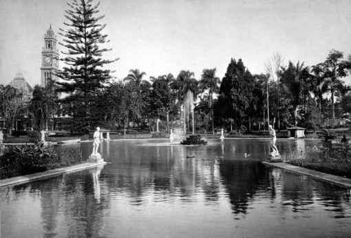 Parque da Luz em 1910