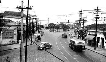 Largo do Cambuci em 1950