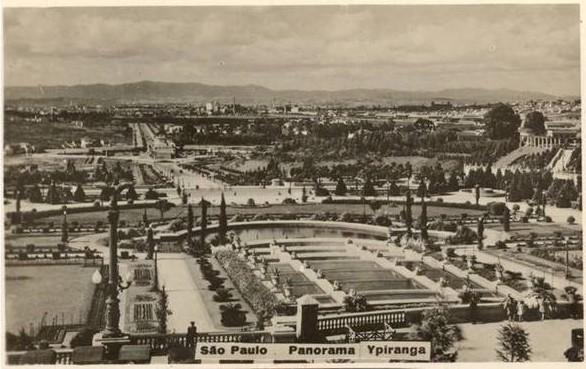 Panorama do bairro do Ipiranga