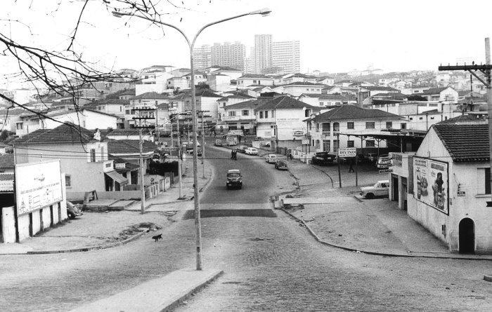 Avenida Pompeia em 1972. Ywane Wamazaki
