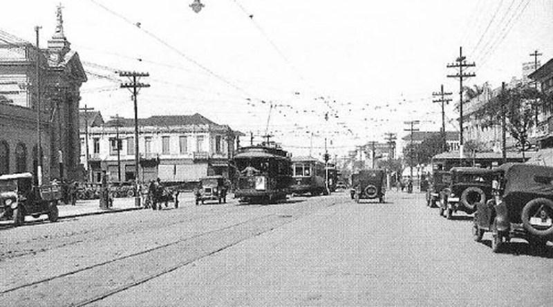 Avenida Rangel Pestana em 1920.