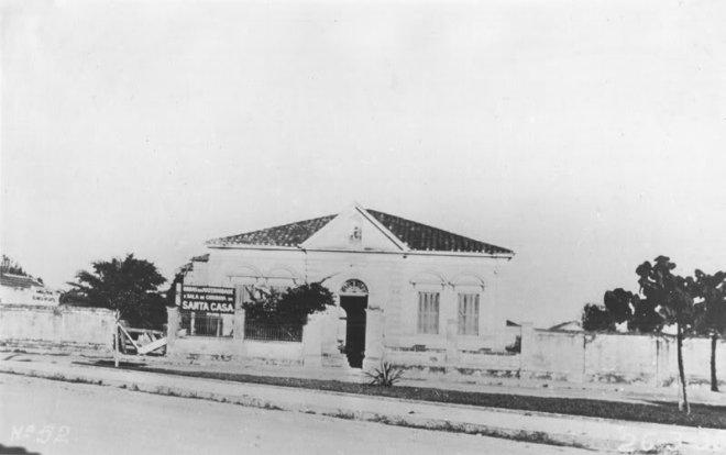 Santa Casa de Santo Amaro em 1936.
