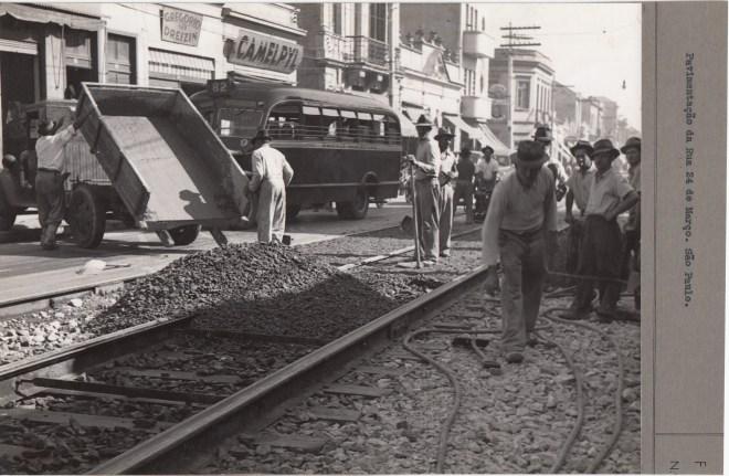 Rua 25 de março em 1941