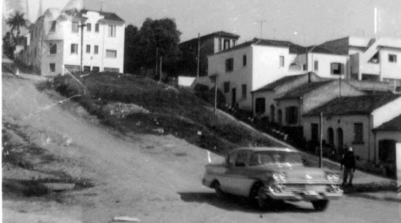 Rua Caiubi no início dos anos 60