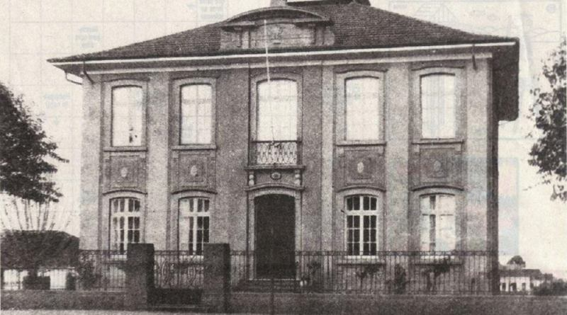 Registro do Instituto Pasteur em 1903
