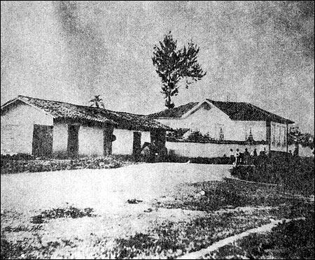 Foto tirada em 1862, por M. A. Azevedo da Chácara Bresser ou Haus Bresser