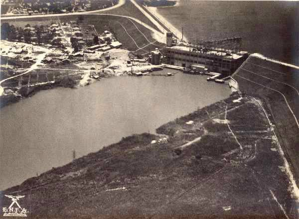 Represa Nova Light, em Santo Amaro, por volta de 1940