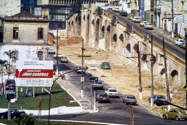 Arcos do Jânio em 1987