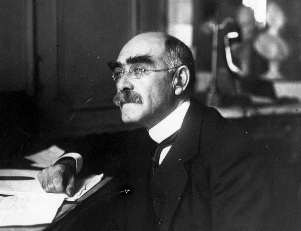 Rudyard Kipling (1865 - 1936), the English author.   (Photo by Hulton Archive/Getty Images)