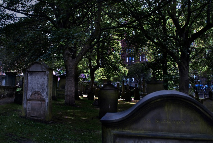 graveyard - Edinburgh, Scotland
