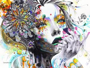 colorful-abstract-girl