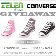 Converse Shoes Giveaway | Zelenshoes.com