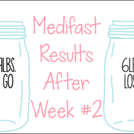 Medifast Journey | Week #2