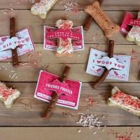 Dog Valentines | Peanut Butter Yogurt Milk-Bone