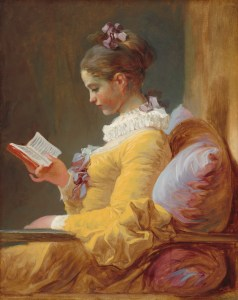 A Young GIrl Reading, Jean-Honoré Fragonard, c. 1776