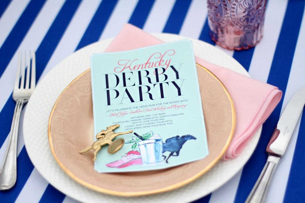Derby Garden Party via Sarah Sofia Production