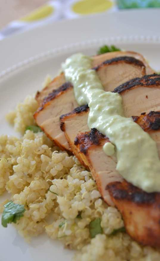 Blackened Chicken and Cilantro Lime Quinoa - ENDEVR | Live Inspired