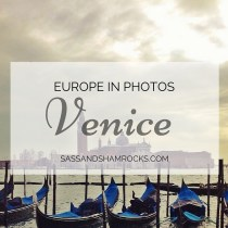 Europe in Photos: Venice