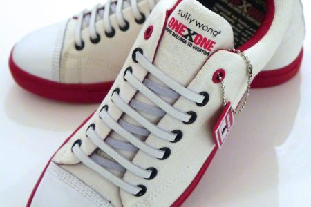Sully Wong x ONEXONE HOPE Sneakers are good for your sole.