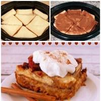 Slow Cooker - Cinnamon & Vanilla Easy Bread Pudding Recipe