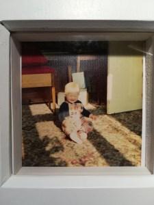Baby Satya framed