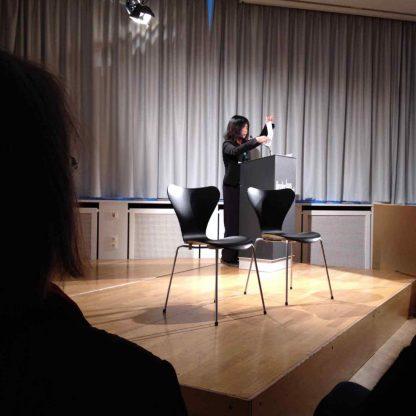 Literatur in Stuttgart: Yoko Tawada am Leserinnenpult