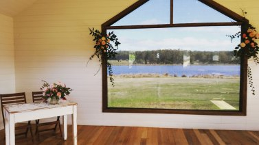 Postcards wedding special at Sault Restaurant Daylesford