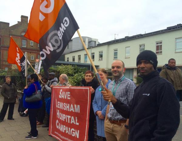 cleaners picket 2