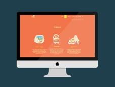 don catering web site presentation illustration food
