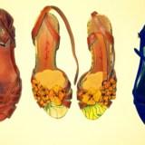 Wardrobe-Closet-Shoes-Sandals-Clarks-Miss-Sixty-Yellow-Flowers-Cutout-Camper-Indigo-Blue-Flats-2