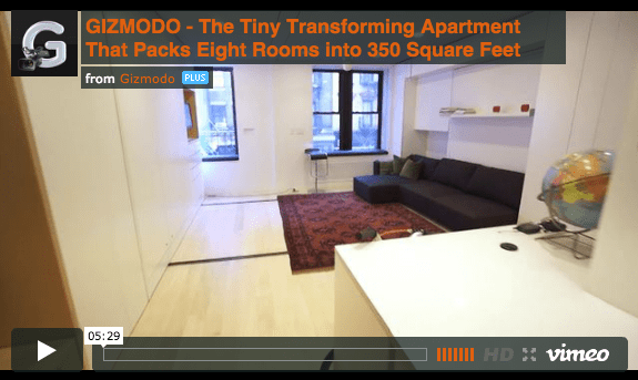 8 Rooms In 420 Square Feet New York City S Tiny But Multi