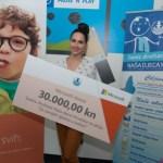 Lana Jurcevic i donacija 30.000 kn