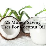 25 Money Saving Uses For Coconut Oil