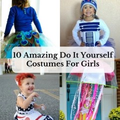 10 Amazing Do It Yourself Costumes For Girls
